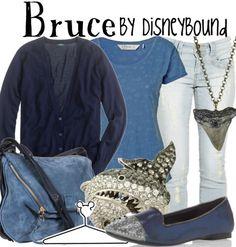Bruce by disneybound