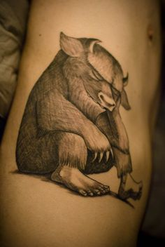 My Where The Wild Things Are tattoo    Done by Ainslie Heilich at Vintage Karma in Stroudsburg Pennsylvania    http://www.facebook.com/vintagekarma