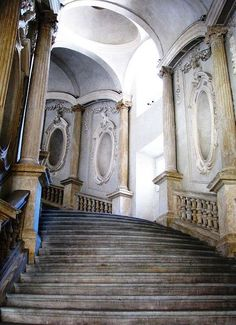 …staircase...