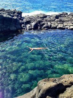 Queens Bath, Kauai, Hawaii