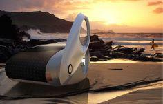 Ecco Camper Futuristic Vehicle Concept by Nau