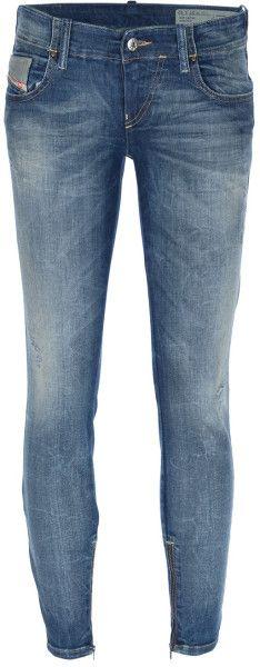 Diesel Blue Skinny Jean