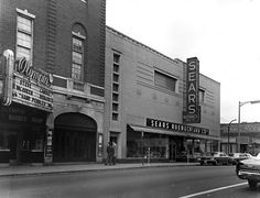 Olympia Theater - 833 Purchase Street, Downtown - built in 1916 and closed in 1971. Sears, Roebuck and Co. - 907 Purchase Street, Downtown opened in 1940 and closed in 1971 when they moved to the Dartmouth Mall - Bank of Boston is now in its place.