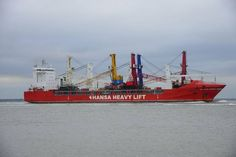 Five Large Cranes Delivered to Bulgaria and Egypt