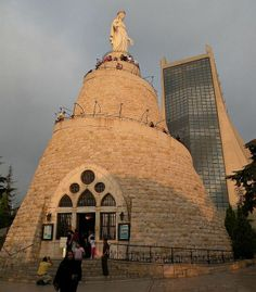 Lady of Lebanon, Beirut, Lebanon http://www.driftermoose.com/how-about-a-holiday-in-lebanon/