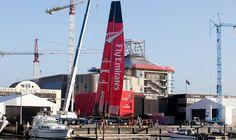 Tall order!  © Chris Cameron / Emirates Team NZ