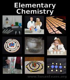 Elementary Chemistry Series (16 video demonstrations) - http://susanevans.org/blog/elementary-chemistry-series/