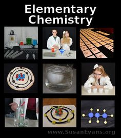Elementary Chemistry Series (16 video demonstrations) - http://susanevans.org/blog/elementary-chemistry-series/