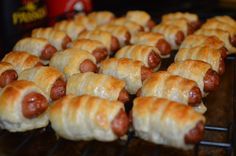 Yesterday, I made these puff pastry wrapped smokies for a friend's birthday potluck. I made them about a month ago for another friend's dinner party, but I wasn't satisfied enough…