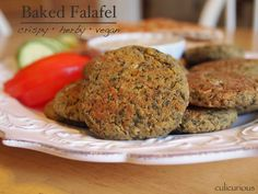 Baked-Falafel-Recipe-with-Tahini-Sauce  Made these in real life!  Turned out surprisingly good and not too chickpea-y.  In lieu of those spices, might try using Mediterranean spice mix.