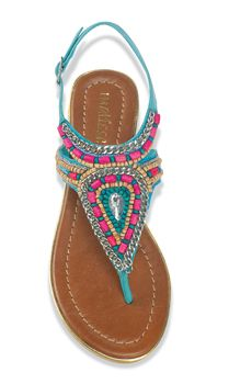 Thinking spring with these Rosario Sandals from Crow's Nest Trading Co