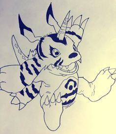 Gabumon - Digimon Adventure by MrDrazzy