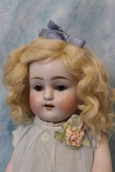 "Huge 10 5"" Antique All Bisque Kestner Doll 150 6 ca1890 Sleep Eyes Molded Socks 