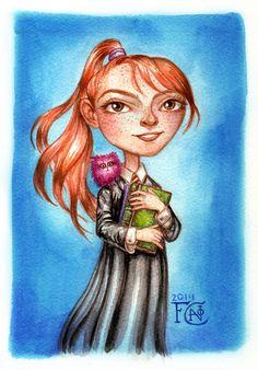 Ginny with Arnold by feliciacano.deviantart.com on @DeviantArt