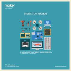 《 MUSIC FOR MAKERS 》 Maker Official Soundtrack (2014)