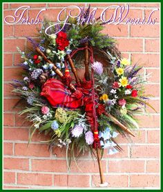 THIS LISTING IS FOR A MADE TO ORDER VERSION OF THE WREATH SHOWN THAT I MADE AND SOLD LAST YEAR. Yours will be VERY, very similar, but NOT exactly identical. I will send you photos for your approval…