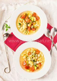 Sopa (de aprovechamiento) de verduras   CreatiVegan.net