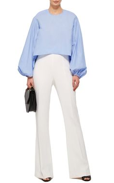 Blue Cotton Tarot Top by ELLERY Now Available on Moda Operandi