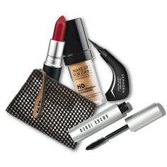 Τονεσεσέρ: Μαυρόασπρο και με διαφάνεια, so rock. Marni, 165€, net-a-porter.com  H μάσκαρα: Smokey Eye Mascara 28€, Bobbi Brown, Attica The Department Store, τηλ. 211 1802500  To κραγιόν: Φλογερό κόκκινο. Lipstick Ruby Woo, MAC 17€, MAC, τηλ. 210 3258260  Το eyeliner: Πανεύκολο στη χρήση για γατίσια μάτια στη στιγμή. Smart Liner, Sephora 7,90€, Sephora, τηλ. 210 3313167  To μείκαπ: Για αψεγάδιαστο δέρμα. HD Foundation, Makeup Forever 23€, Sephora, τηλ. 210 3313167