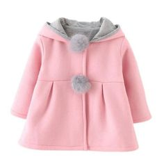 """ba8a2237a7f57 """"This baby girl winter jackets wraps your little one up in cozy warmth."""""""