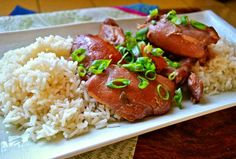 Shoyu Chicken.