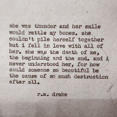 R m drake Poem Quotes, Words Quotes, Wise Words, Life Quotes, Sayings, Amazing Quotes, Great Quotes, Quotes To Live By, Inspirational Quotes