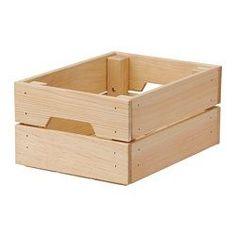KNAGGLIG Cajón, pino - pino - 23x31x15 cm - IKEA