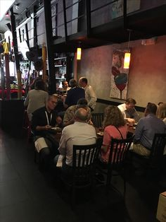 1/30/2017- Sobe Private Food Tour at Bolvier Restaurant enjoying Peruvian Ceviche and Colombian Empanadas