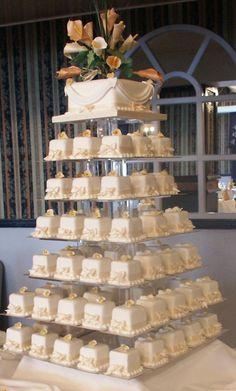 wedding cakes with cupcakes wedding cakes, cakes, food, cakes design. Big Wedding Cakes, Wedding Cakes With Cupcakes, Elegant Wedding Cakes, Elegant Cakes, Beautiful Wedding Cakes, Wedding Cake Designs, Chic Wedding, Beautiful Cakes, Unique Weddings