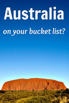 Why I'm SCARED to go on our trip around Australia...read the blog!