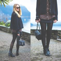 Calvin Klein Jacket, Rebecca Minkoff Bag, Zara Booties