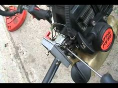 how to adjust carbs on 2 stroke weedeaters and chainsaws Davidsfarmison[bliptv]now Lawn Mower Maintenance, Lawn Mower Repair, Lawn Equipment, Outdoor Power Equipment, Chainsaw Repair, Yard Tools, Woodworking Projects That Sell, Woodworking Ideas, Engine Repair