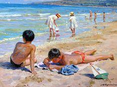 夏天!甜美的气息|俄罗斯当代艺术家亚历山大Averin - 湾仔网站
