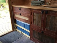 Andrew built this tiny vardo for himself as a getaway tiny house. Diy Camper Trailer, Build A Camper, Truck Bed Camper, Tiny Camper, Tiny House Swoon, Best Tiny House, Tiny House On Wheels, Gypsy Wagon Interior, Camper Interior