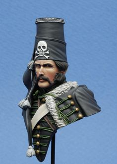 The 5th Regiment Death Hussars. Cords should be white.