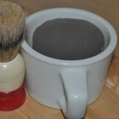 Shaving soap M & P. So easy and my picky husband loves it!