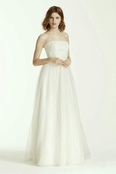 Melissa Sweet Wedding Dress with Banded Lace