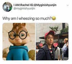That's actually super fucking cute Sarah Andersen, Exo, Sehun, Wattpad, Kind Meme, Got7, Haha, Bts Namjoon, Baby Squirrel