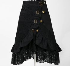 Unique lace skirt alternative original design steam punk clothing women punk skirts goth clothes female  cotton club wear-in Skirts from Women's Clothing & Accessories on Aliexpress.com | Alibaba Group