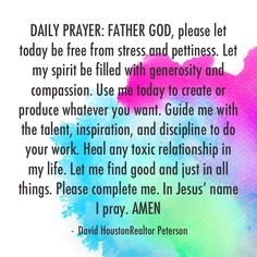 Daily Prayer peace--please then all is ok. Prayer Verses, Bible Prayers, God Prayer, Prayer Quotes, Power Of Prayer, Daily Morning Prayer, Morning Prayers, Daily Prayer, Morning Devotion