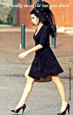 It takes the day but I'm grown And in your way, In this blue shade My tears dry on their own. - Amy Winehouse