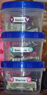 Thrifty DIY Banks for Teaching Kids about Money