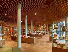 Tienda del Museo Crystal Bridges / Marlon Blackwell Architect