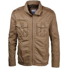 Braune #Jacke mit Schulterklappe ab 109,99€ ♥ Hier kaufen: http://stylefru.it/s428981 #uebergangsjacke