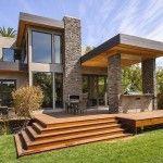 Fachadas de casas con piedra natural