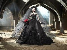 Hermosa novia vampiro