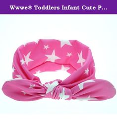 "Wwwe® Toddlers Infant Cute Polka Dot Elastic Bowknot Headband. 1. Size:38*7.5/14.6*2.9"" 2. Age:For 0 months to 5 years old baby 3. New and nice design 4. Special accessory for your child perfect for photo shoots or for any special occasions 5.Bright color dressing up your little baby more cute 6.Make your baby become more fashionable,attractive,beautiful,your kids will like it very much. 7.A great gift for your children 8. Due to the light and screen difference,the item's color may be..."