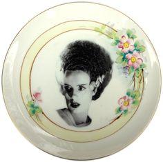 Mrs. Frankenstein Portrait Plates