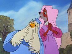 "*LADY KLUCK & MAID MARIAN ~ Robin Hood, 1973.... ""Oh, mercy!"" Disney Animated Films, Disney Films, Disney Cartoons, Disney Pixar, Walt Disney, Disney And More, Disney Love, Disney Magic, Animation Film"