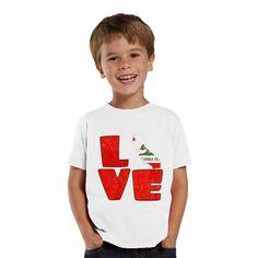 Love California kids shirt by shirtsbynany on Etsy